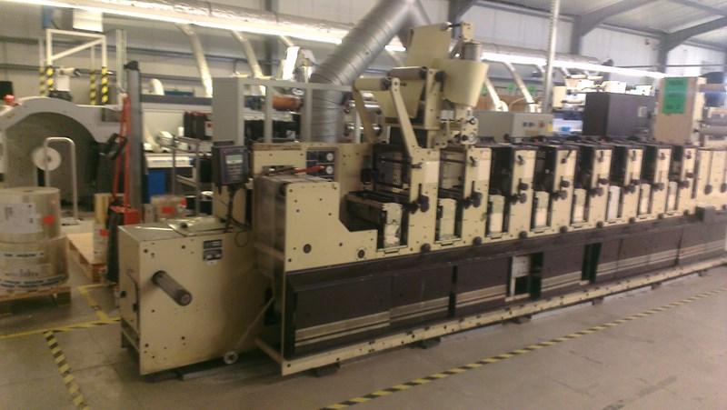 Mark Andy 2200-100E Flexo Label Press