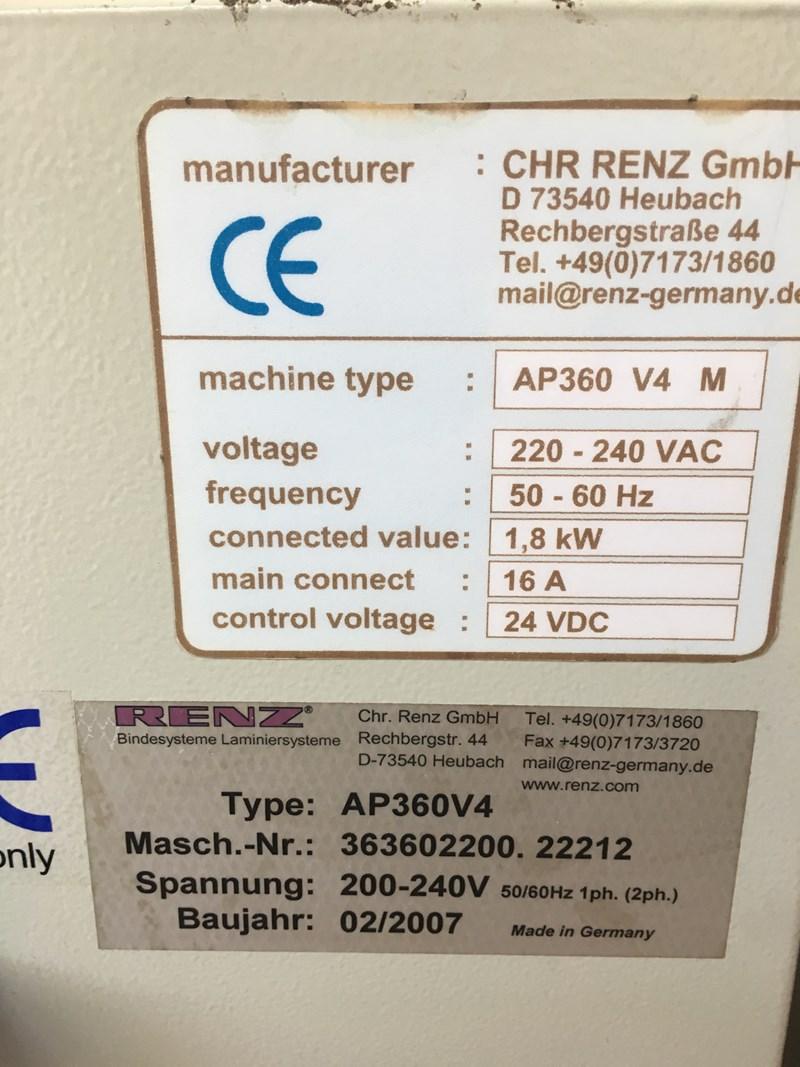 Renz AP360 Autopunch