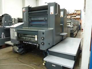 Heidelberg SM 74-2p two colour offset