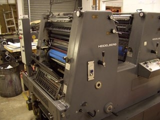 Heidelberg GTO 52Z +version