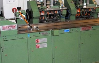 Sitma C 905 foil wrapping and finishing machine