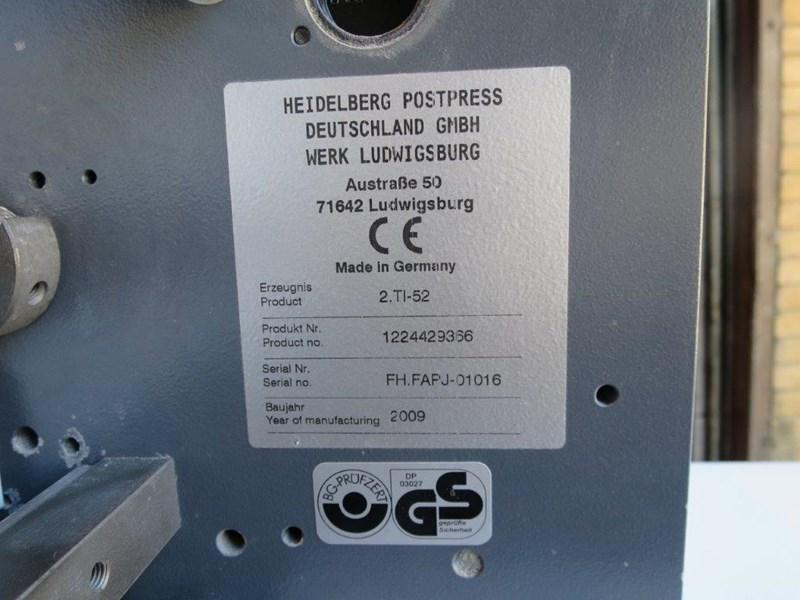 Stahl TI 52 4/4 (inc' Crossfold Unit)