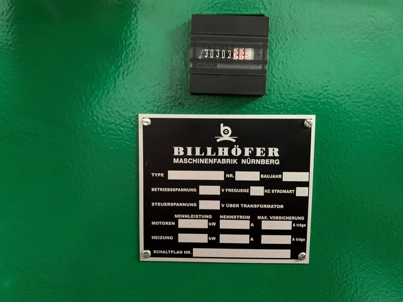 BILLHOFER EK 102-50