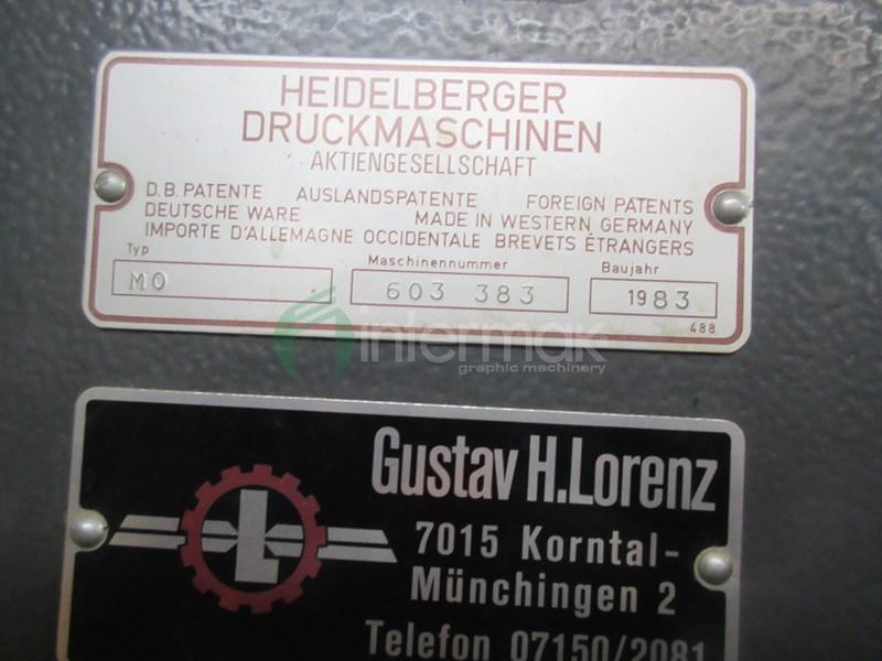 Heidelberg MO-E