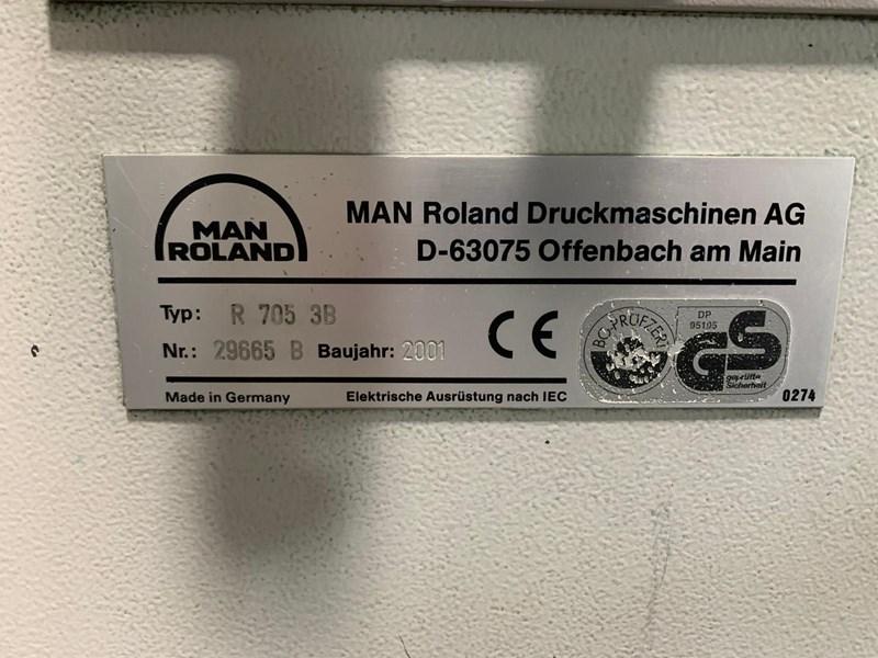 MAN ROLAND R 705 3B P