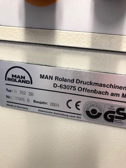Manroland 702 3B E
