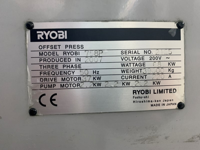 Ryobi 758P LX (XL Version 8-XL-D)