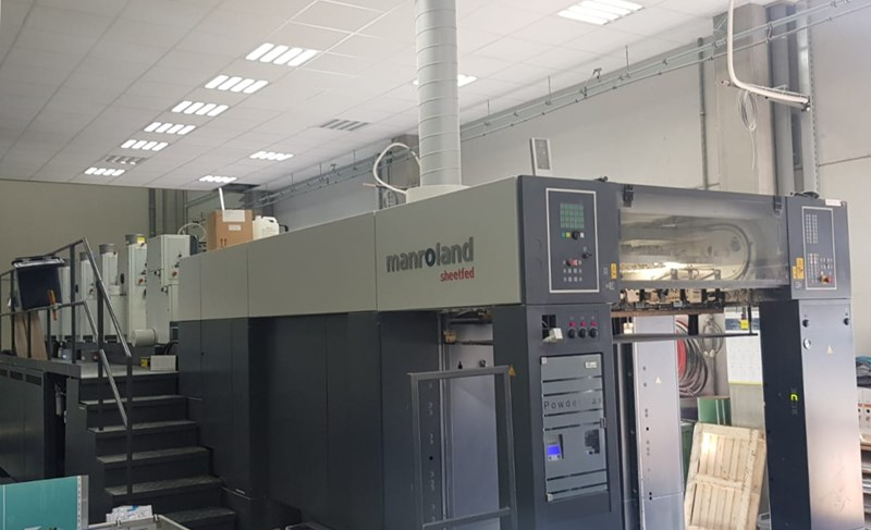 Show details for Roland 705 3B LV DirectDrive 5 Color + Coating Unit with Extended Delivery