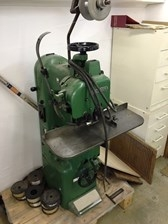 Brehmer stitcher unit one (1) head, max. thickness 25 mm, machine in very good condition.