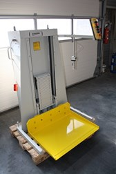 Knorr Pile Lift, with steel-plate  500 x 700 mm