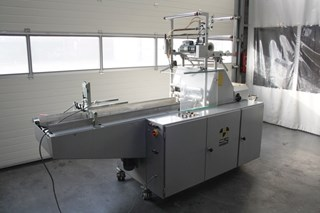Beck S17-32 Foil Packaging Machine + Shrink tunnel
