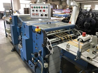 Bickel TS3 perforating and die-cutting machine
