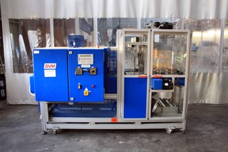 BVM Brunner SP4020W / SC4020M Foil Packing Machine + Shrink Tunnel