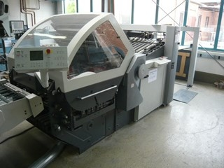 Heidelberg Stahlfolder KH82/6KTL folding machine