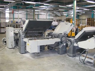 Heidelberg Stahlfolder TH 82/442 folding machine ( if need + delivery Palamides Alpha 700+)