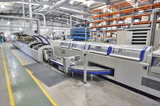 Kolbus KM 411.B perfect binding line