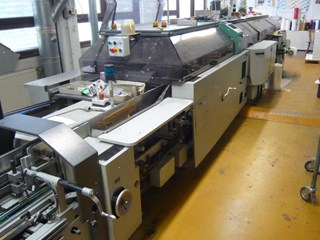 Kolbus Ratiobinder KM 470 perfect binding line
