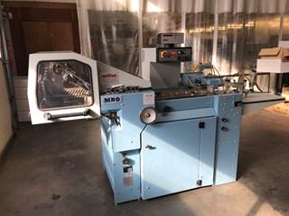 MBO T500 4/4 folding machine