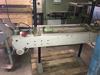Muller Martini delivery belt for 225 saddle stitcher