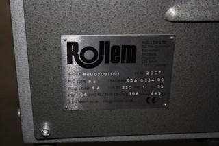 Rollem Score/Crease machine full automatic