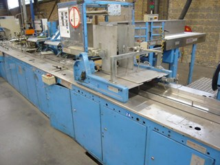 Sitma C80-750 inserting machine / foil packaging machine