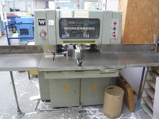 Wohlenberg 38F three knife trimmer