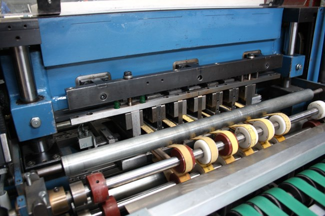 Bickel TS 3 perforating and die-cutting machine