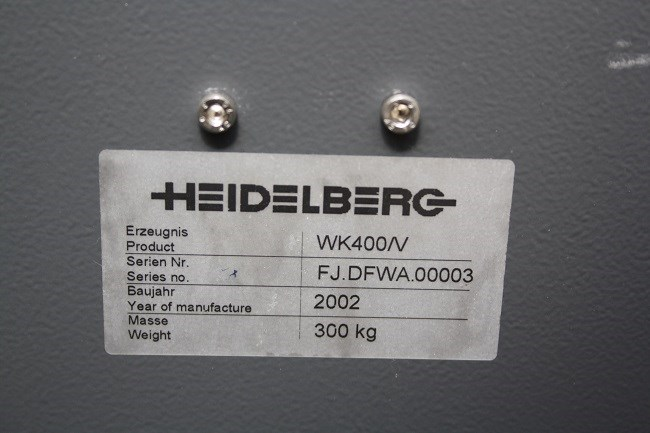 Heidelberg WK400/V card gluer for ST400/ST450