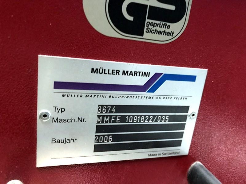Muller Martini 3674 Frontero