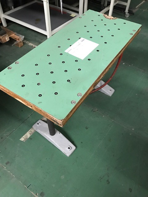 Muller Martini stacker air table