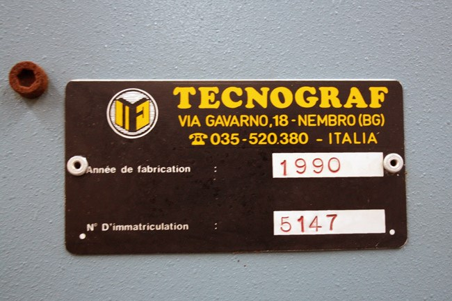 Tecnograf Tecno stacker