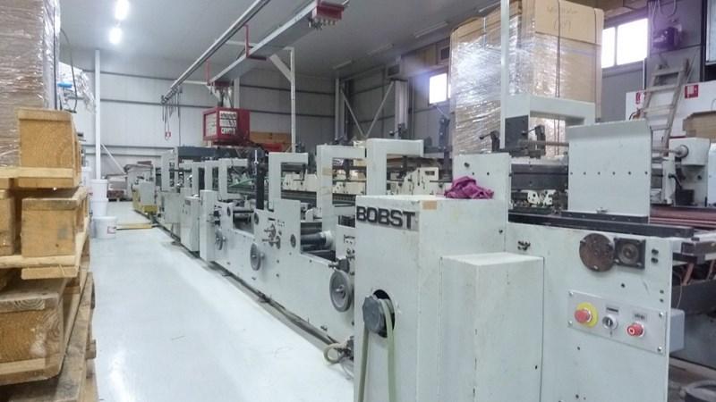 Bobst Domino 110M Automatic Carton Gluer