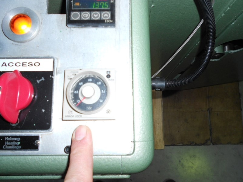 Kolbus PE 48 automatic embossing machine