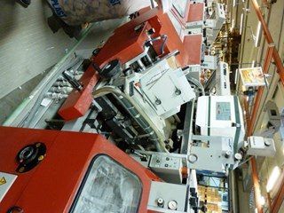 MULLER MARTINI 315 FEEDER/GLUER HEAD