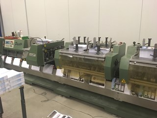 Muller Martini Presto 1550 saddle stitcher- 2000