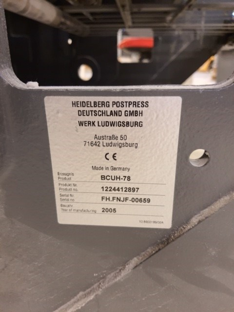 Heidelberg KH78-4 KTL