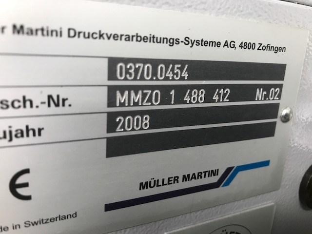 Muller Martini Bravo Plus Amrys Saddle Stitcher-2007