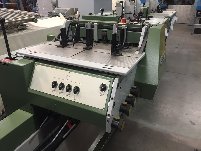 Muller Martini Presto 1550 Saddle Stitcher- 1998