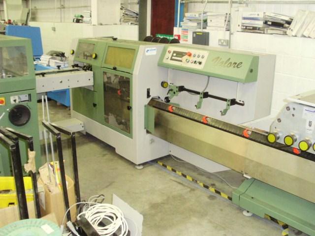 Muller Martini Valore 1558 saddle stitcher - 2002