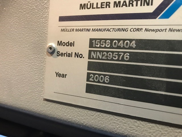 Muller Martini Valore Saddle Stitcher