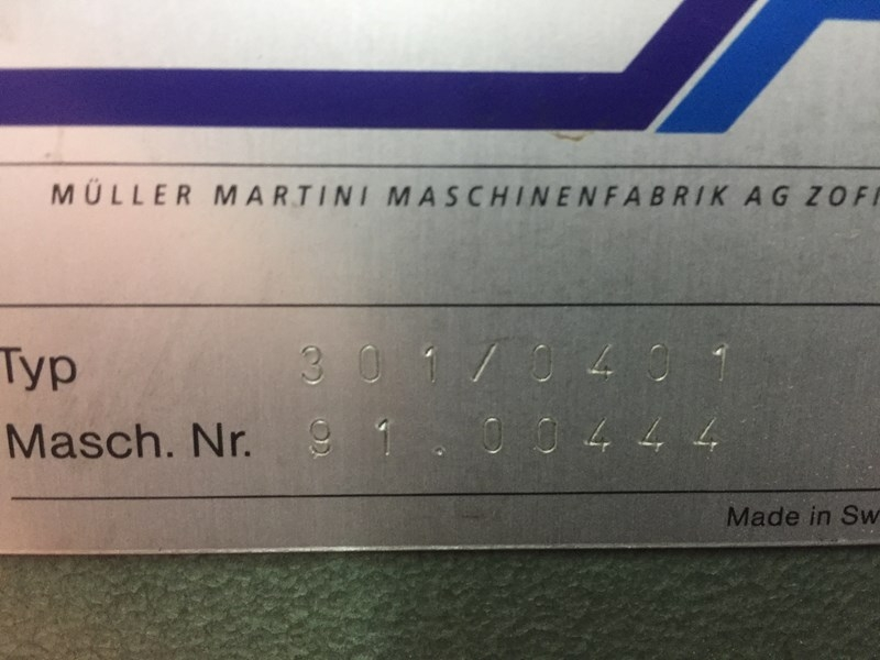 Muller Martini 301 line- 1994