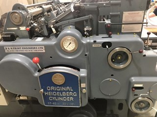 Heidelberg SBB with B&H Touch screen conversion