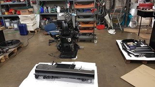 Heidelberg 10x15 Platen Rebuilt with side to side foiling system