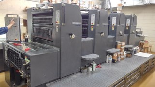 Heidelberg Printmaster 74 4
