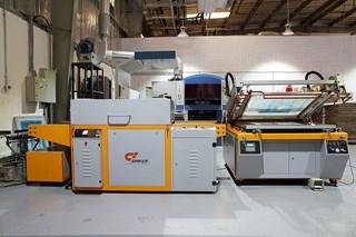 Silk Screen machine with UV Druyer, Printer and Frame Maker