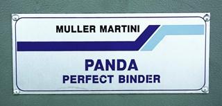 Muller Martini Panda Binder