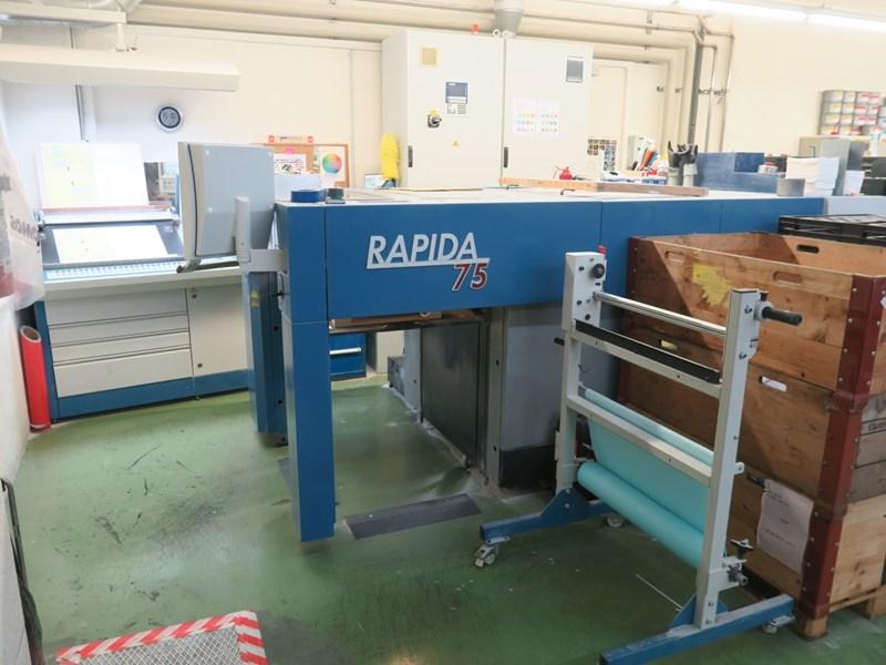 KBA RAPIDA RA 75-5 + L-ALV2