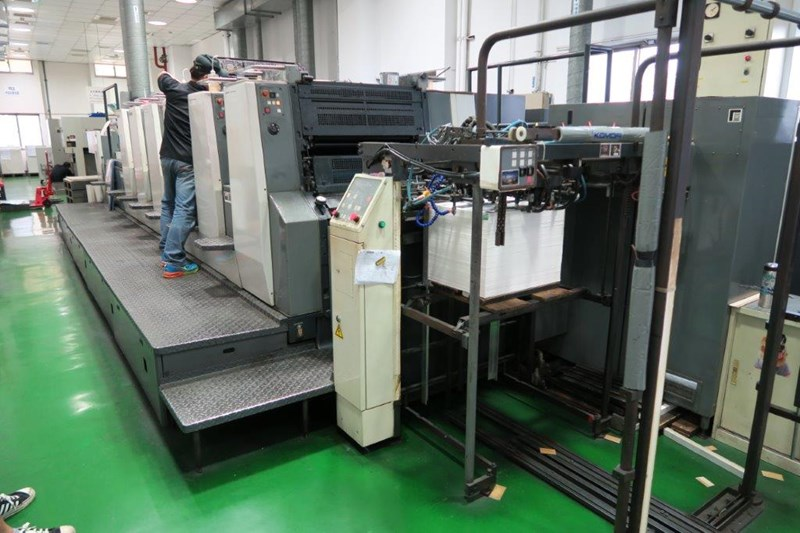 Komori Lithrone NL628+ED+UV