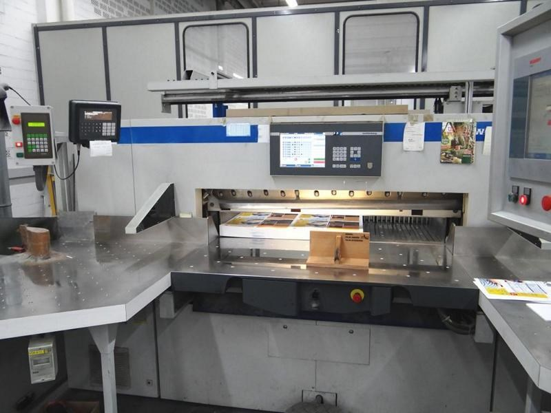 Wohlenberg 137 Cut Tec with BASA and Autotrim