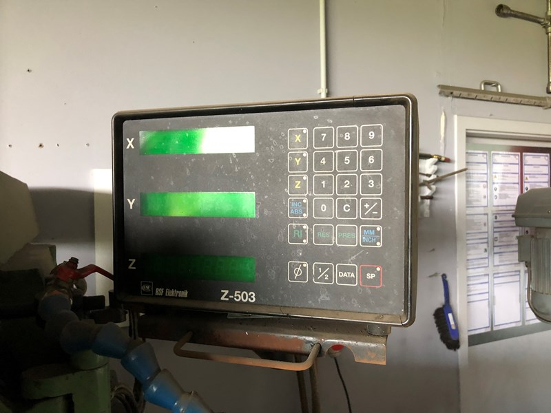 Wagner FCM 1200 Fräsmaschine
